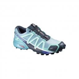 chaussures trail salomon speedcross 4 cs w blue gum 37 1 3