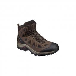 Chaussures salomon authentic ltr gtx black coffee 43 1 3