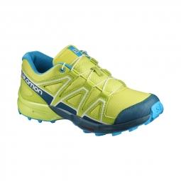 Chaussures salomon speedcross j lime punch reflect 31