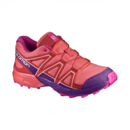 Chaussures Salomon Speedcross J Living Coral