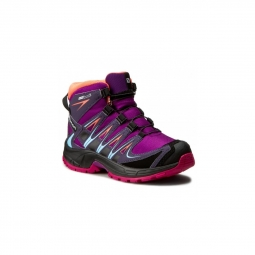 Chaussures salomon xa pro 3d mid cswp j passion purple 31