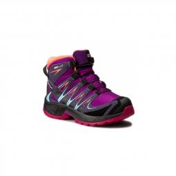 chaussures salomon xa pro 3d mid cswp j passion purple 31