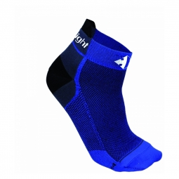 Chaussettes raidlight r light fines royal blue blk 36 38