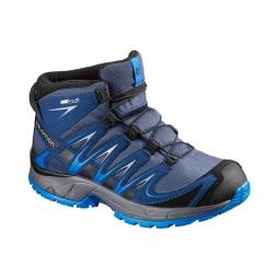 chaussures salomon xa pro 3d mid cswp j slateblue 32