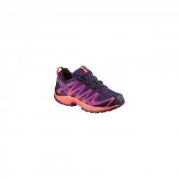 chaussures salomon jr xa pro 3d j cosmic purple 31
