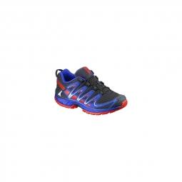 chaussures salomon jr xa pro 3d j deep blue 31