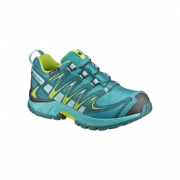 Chaussures salomon jr xa pro 3d cswp j peaco blue 33