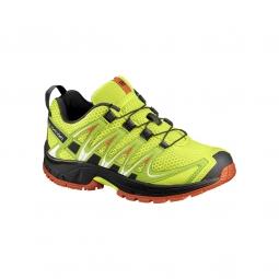 chaussures salomon jr xa pro 3d j lime punch 31