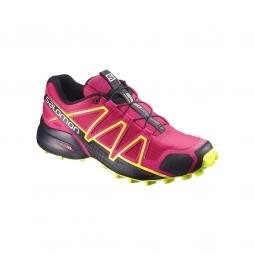 Chaussures salomon speedcross 4 w pink black 40 2 3