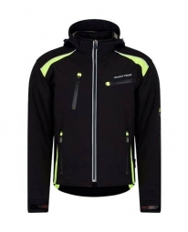Urban soft shell noir jaune l