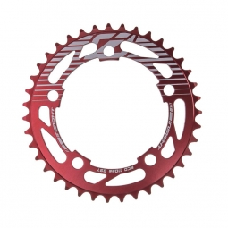 Couronne 5 points insight 110mm rouge 34
