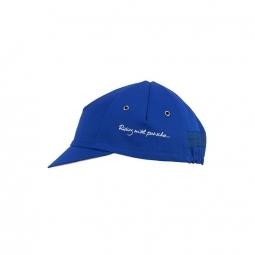 penombre royal blue nautical casquette preformee m