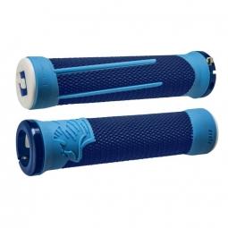 Pack poignee ODI AG2 v2.1 lock on 135mm bleu/bleu