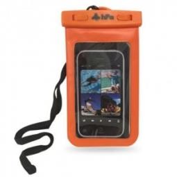 Pochette étanche pour téléphone 6  Orange