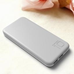 Batterie externe 10 000mAh. Double USB