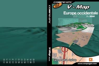 carte routiere tomtom de l europe de l ouest sur dvd
