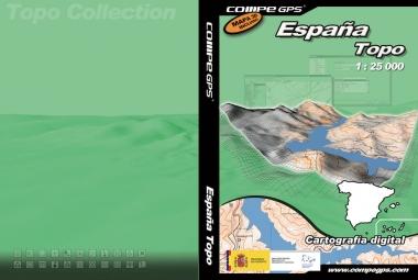 Carte Twonav topo 1 25 Espagne