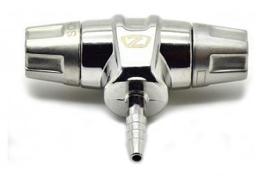 Embout de Pompe ZEFAL Z-TWIN Presta/Schrader .