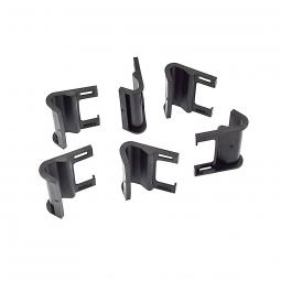 6 crochets de protection en plastique pour coffre de voiture