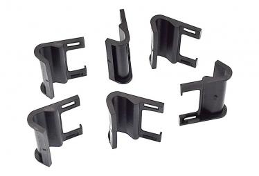 6 crochets de protection en plastique pour coffre de voiture .