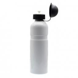 Gourde en aluminium blanche 750 ml pour cycliste