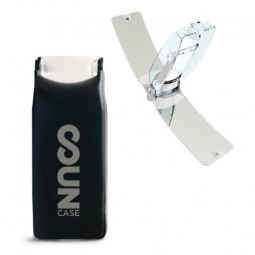 Image of Briquet solaire solar brother suncase noir