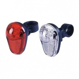 Kit d eclairage 3 led haute luminosite pour velo et roller