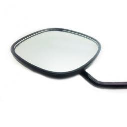 Rétroviseur pour vélo bras long et grand miroir 90 mm avec réflecteur