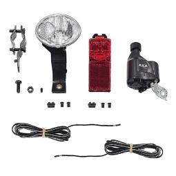Kit eclairage a connexion rapide avec dynamo pour velo