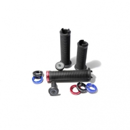 poignees global racing flowgrip 145mm black 130