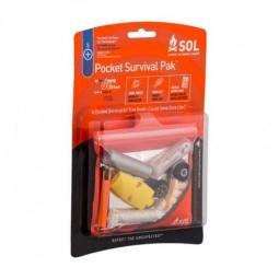 Pack de survie SOL Pocket Survival Pak