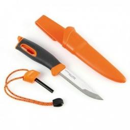 couteau de survie fireknife light my fire orange