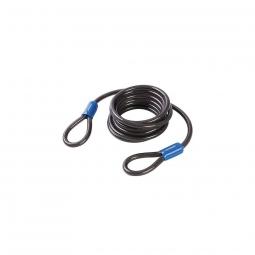 Cable de securite en acier pour velo