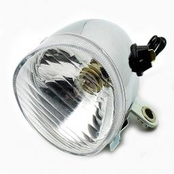 phare avant classic ampoule chrome feu velo