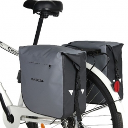 sac double arriere impermeable pour velo
