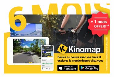 Image of Kinomap 6 mois 1 mois offert prepaye