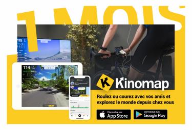 Kinomap 1 mois - Prépayé