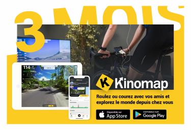 Kinomap 3 mois - Prépayé