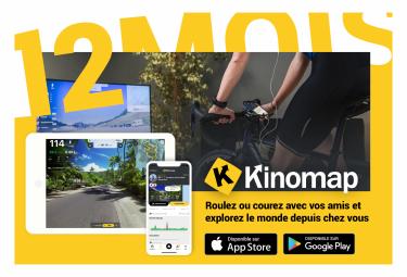 Kinomap 12 mois - Prépayé
