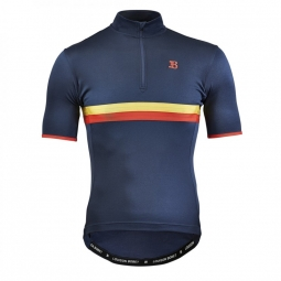 Solingen 54 dress blue maillot manches courtes merinos l