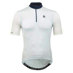 Bordeaux 59 pale blue maillot manches courtes merinos m