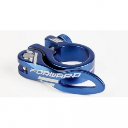 Collier de selle forward am bleu 31 8mm