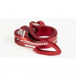 COLLIER DE SELLE FORWARD AM - 31.8MM - RED