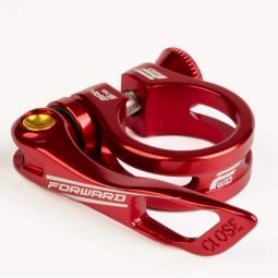 collier de selle forward elite 25 4mm red 25 4 mm