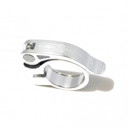 COLLIER DE SELLE GLOBAL RACING SPEEDCLAMP 25.4mm POLISHED