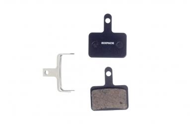 Plaquettes semi metallique shimano deore m525 tektro auriga comp agressive