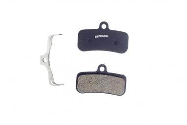 Plaquettes semi metallique shimano saint m810 m820 zee m640 agressive