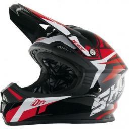 Casque shot furious squad red t kid s 49 50 kid s 47 48 cm