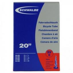Chambre a air schwalbe 20 presta valve 40mm boite 1 3 8