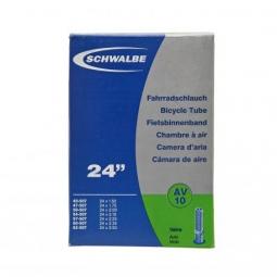 CHAMBRE A AIR SCHWALBE - 24 - SHRADER VALVE 40mm - BOITE